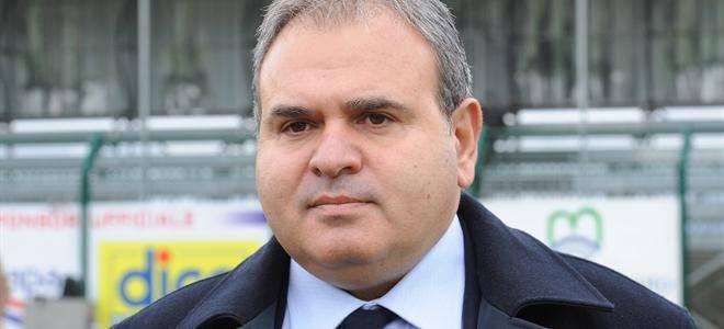 Il presidente dell' US Agropoli Domenico Cerruti