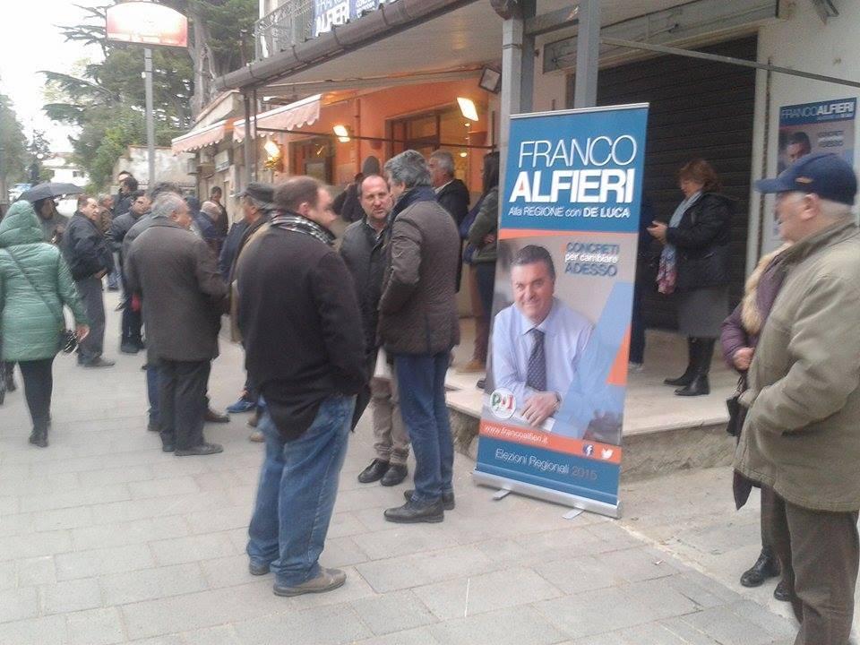 Castellabate, Alfieri inaugura il comitato elettorale