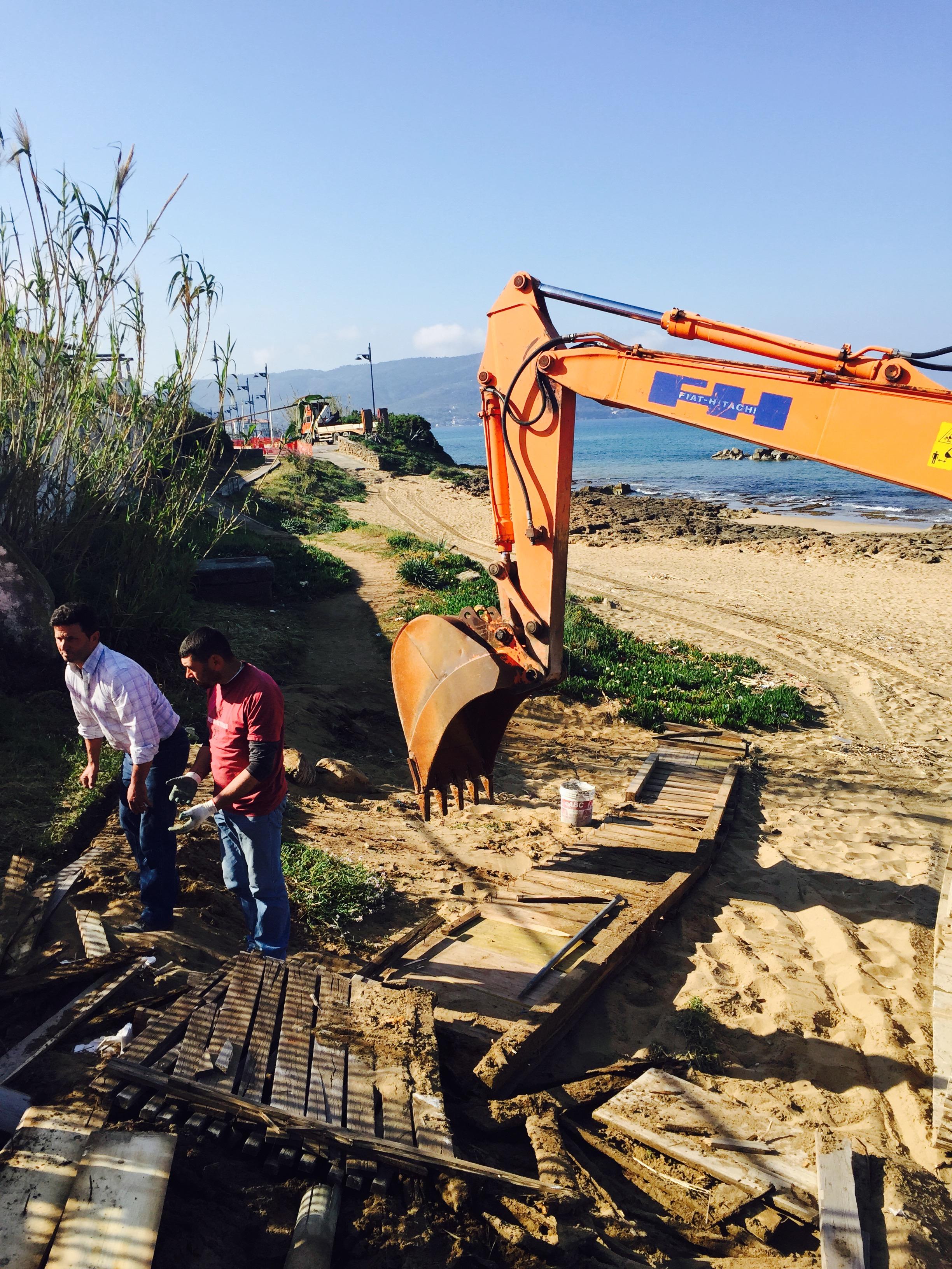 Castellabate, al via i lavori per la passerella di legno tra Lago e Santa Maria
