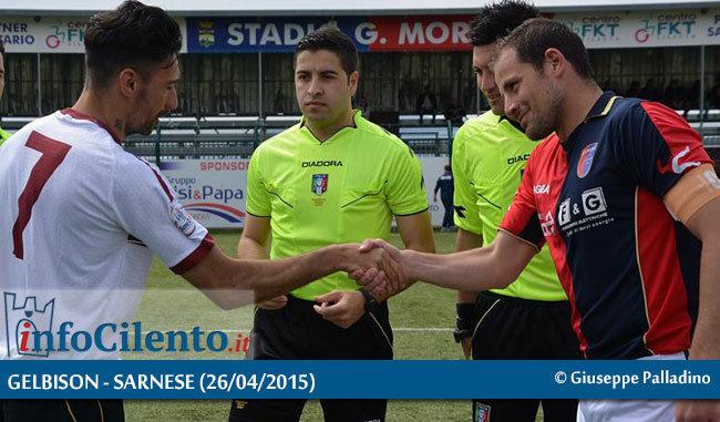Calcio, Serie D: Gelbison – Sarnese, la gara minuto per minuto | FOTO
