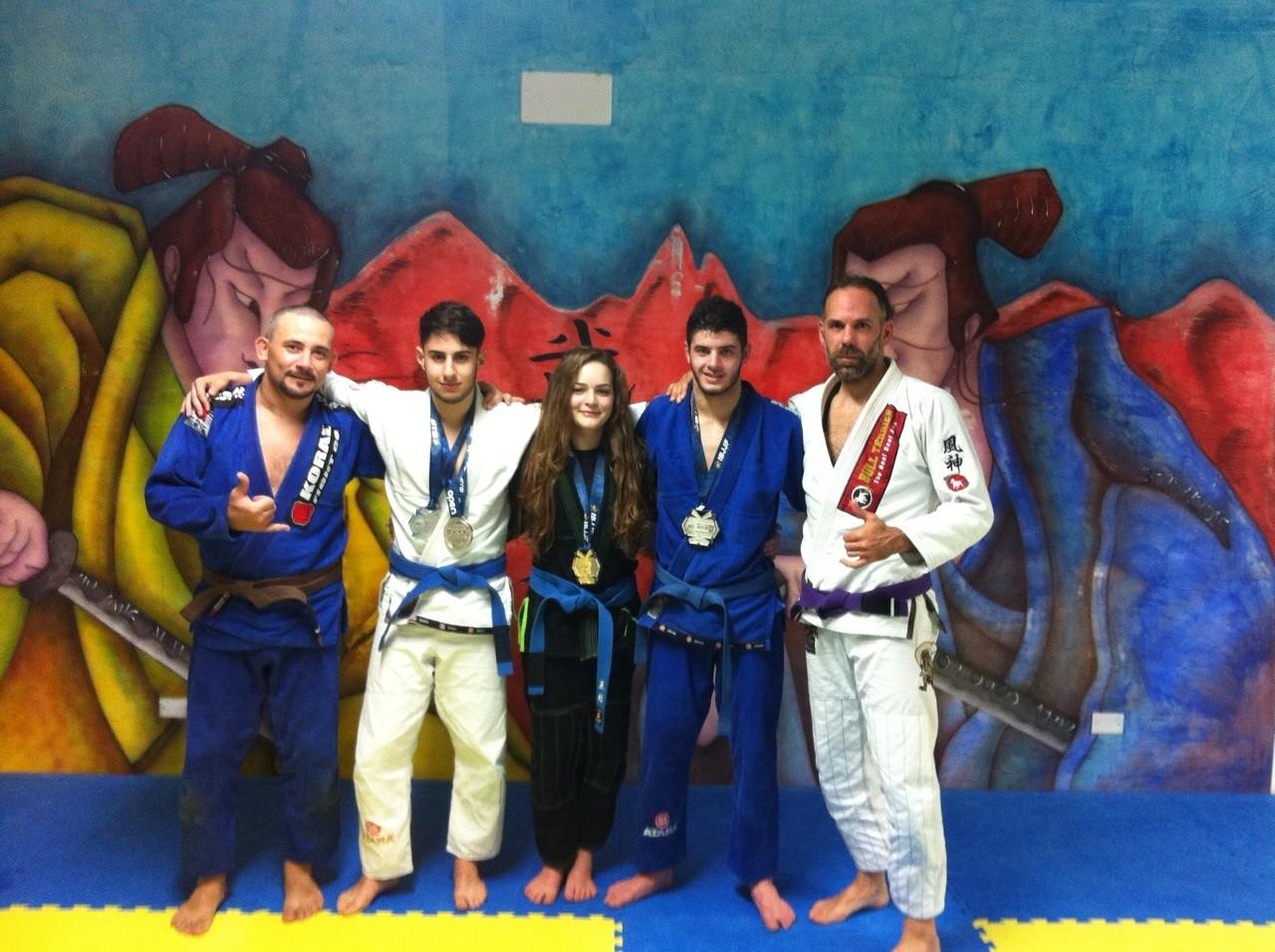"""La """"Yin Yang  arti marziali"""" fa incetta di medaglie: un oro e tre argenti al campionato europeo"""