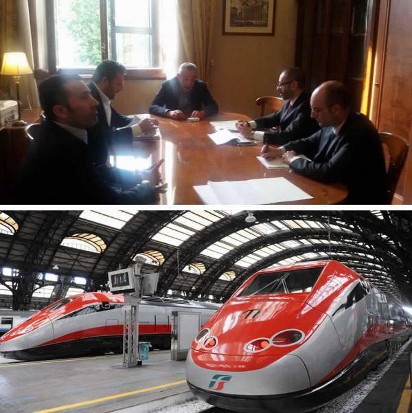 Treno dei Parchi, passo in avanti per il progetto sull'alta velocità nel Cilento