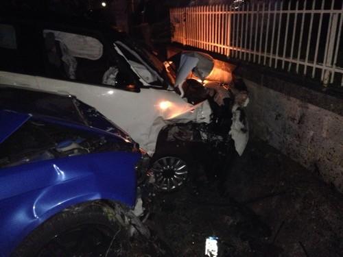 Incidente all'uscita di un locale, due ragazze in ospedale