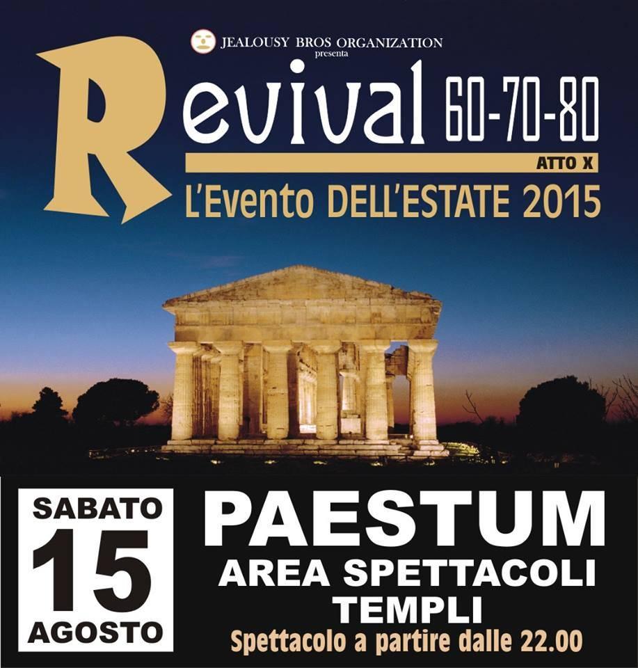 Nei Templi di Paestum si ballerà al ritmo della disco music