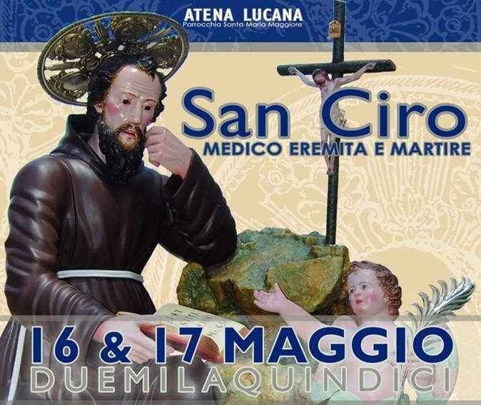 Atena Lucana e il miracolo di San Ciro. Nel week end la festa