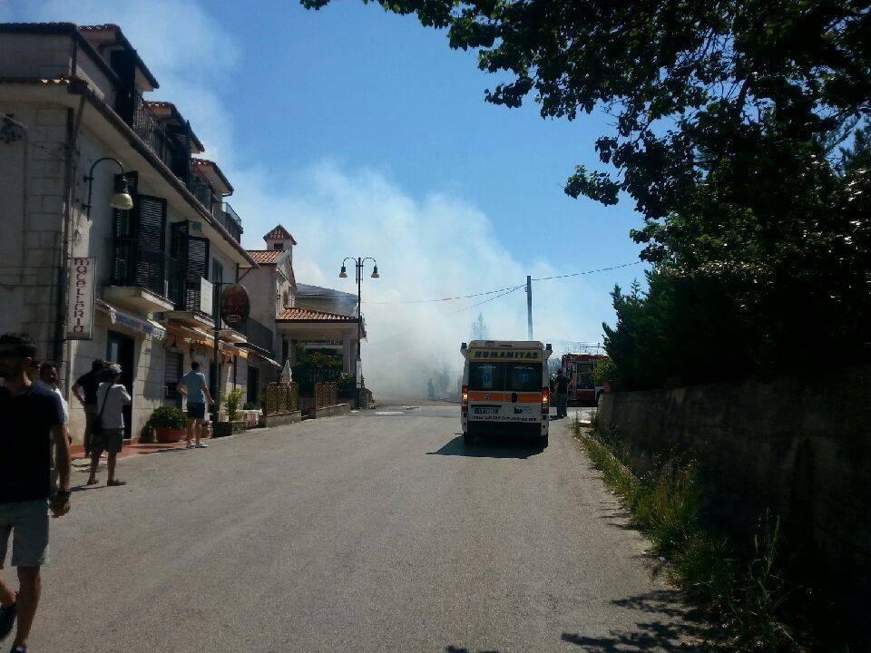 Perdifumo: a fuoco la discoteca San Pietro