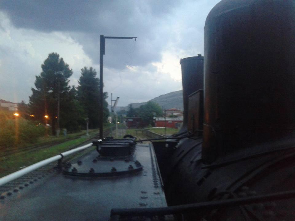 La stazione di Polla sulla dismessa Sicignano-Lagonegro
