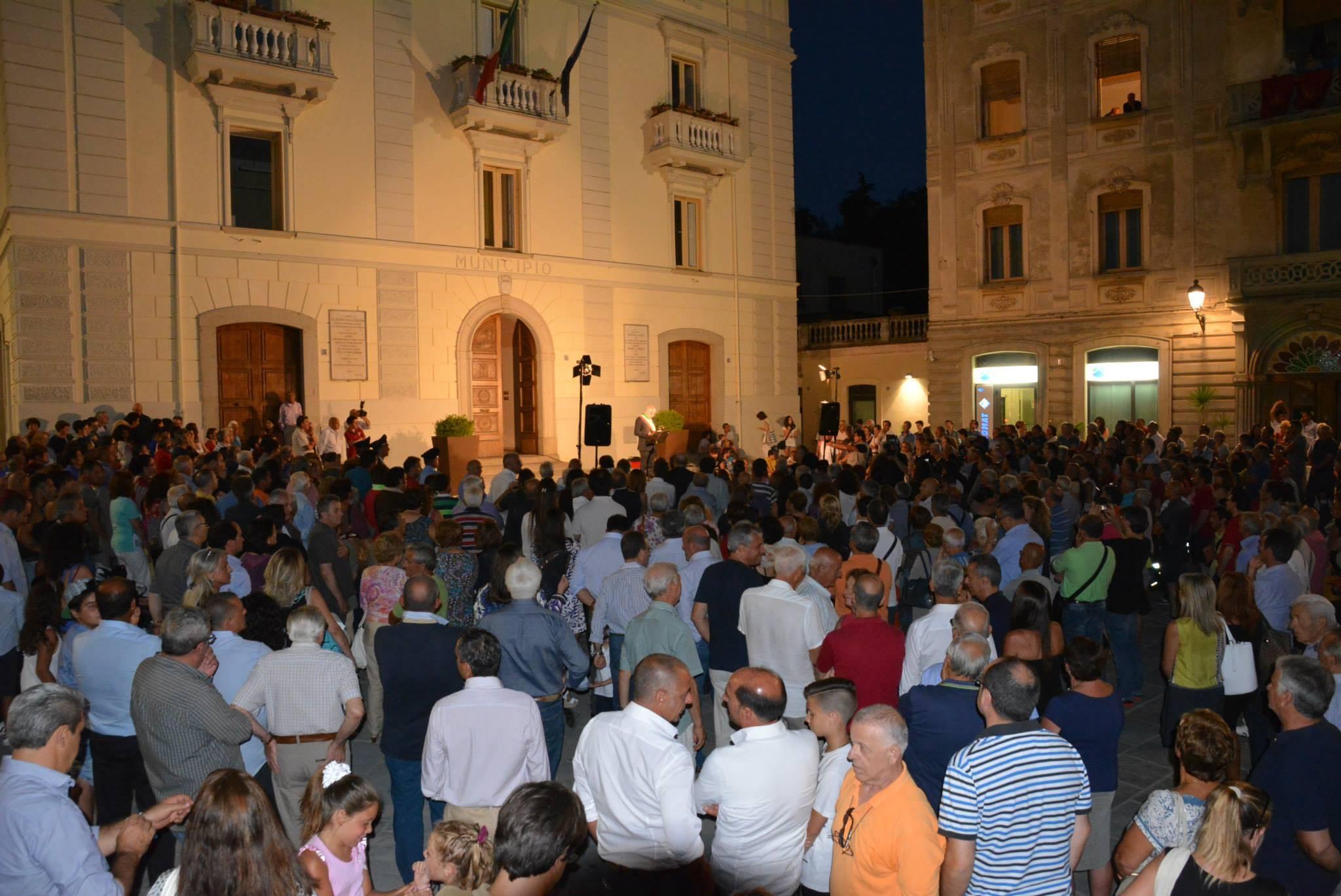 Vallo della Lucania, ecco la nuova piazza