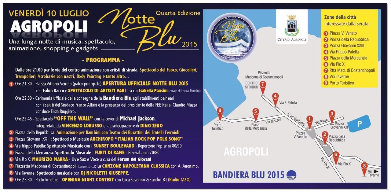 Agropoli festeggia la Bandiera blu. Il programma dell'evento