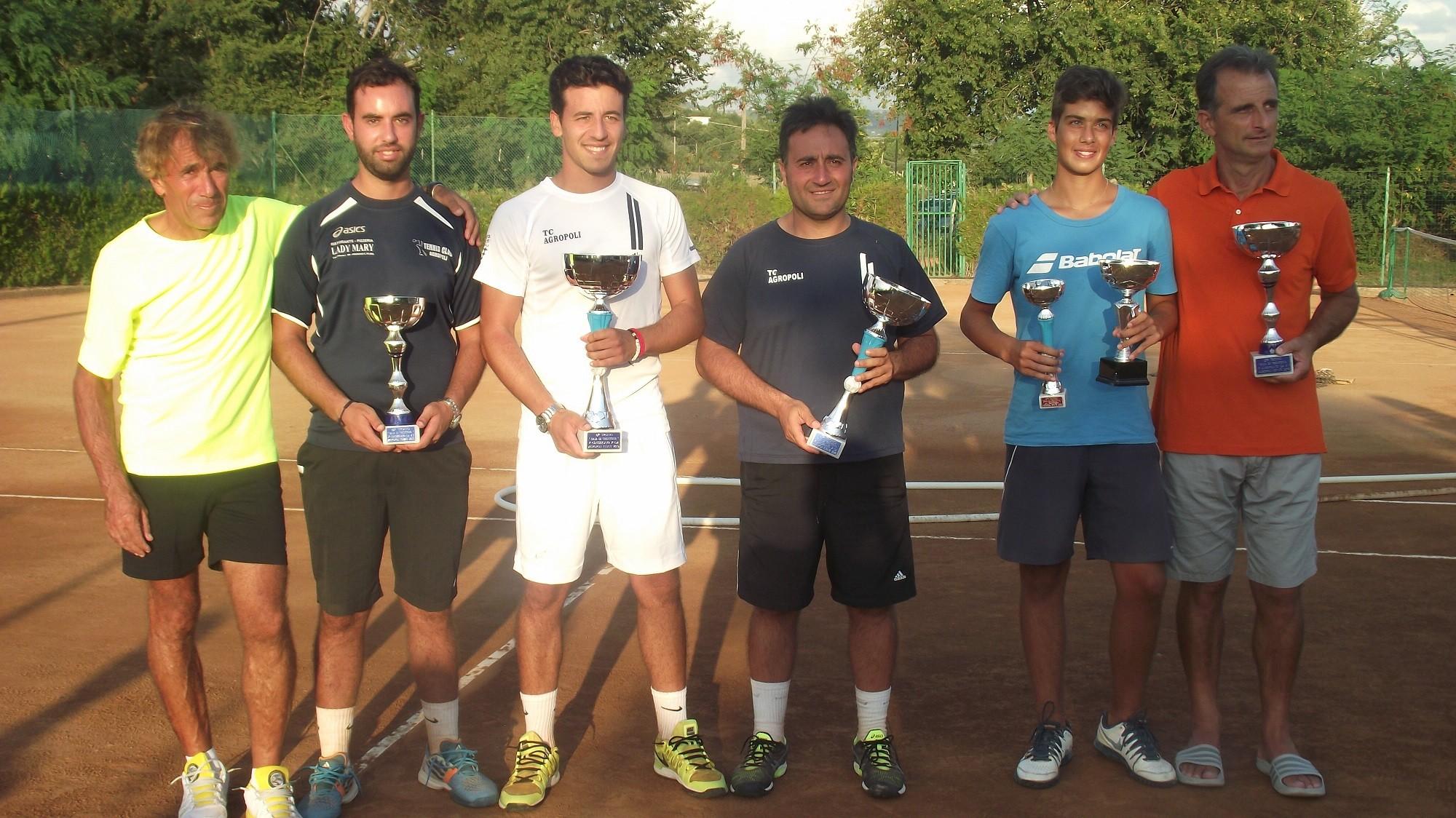 Tennis, Trofeo Baia di Trentova: trionfa Alessandro Montone