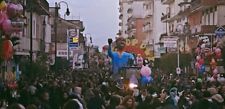Agropoli: domani si presentano le bozze dei carri di Carnevale