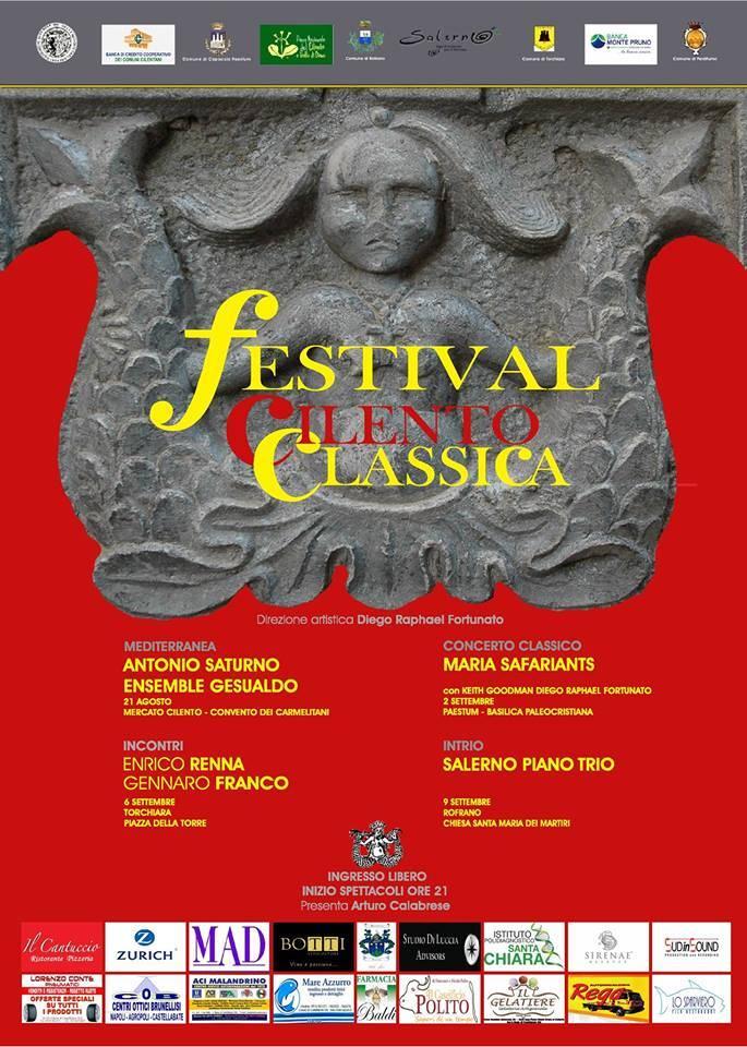 A Perdifumo appuntamento con il Festival Cilento Classica