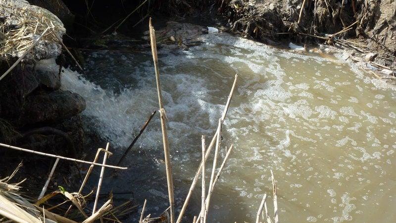 Sversamenti illeciti nel fiume Sele, scatta il blitz