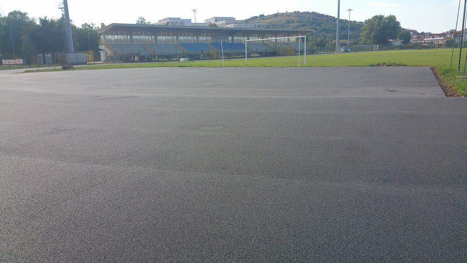 Agropoli, in via di completamento i lavori alle strutture sportive