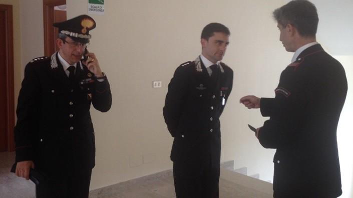 Cambio al vertice della compagnia carabinieri di Sapri