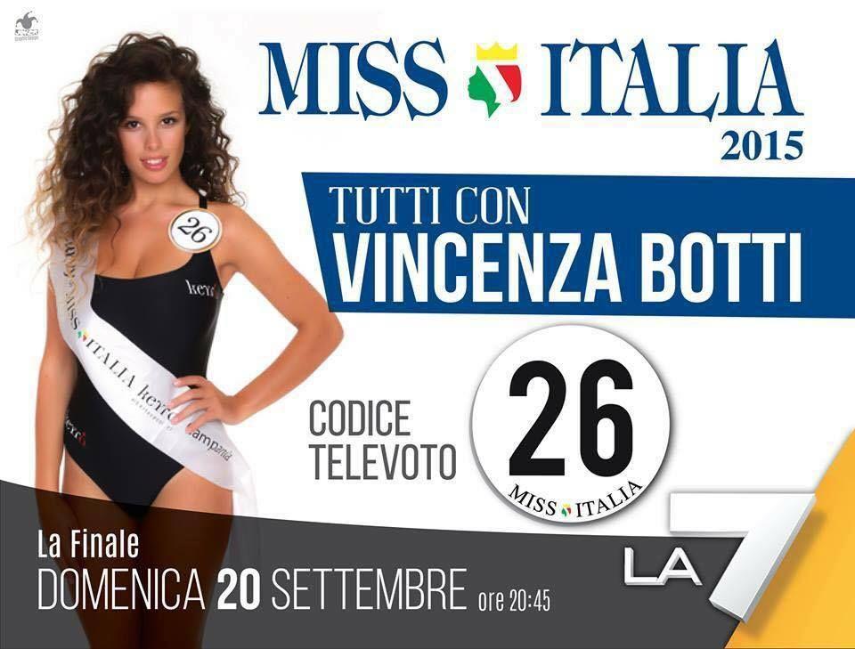 Miss Italia, verso la finale: il Cilento tifa per Enza Botti. Ecco come votarla