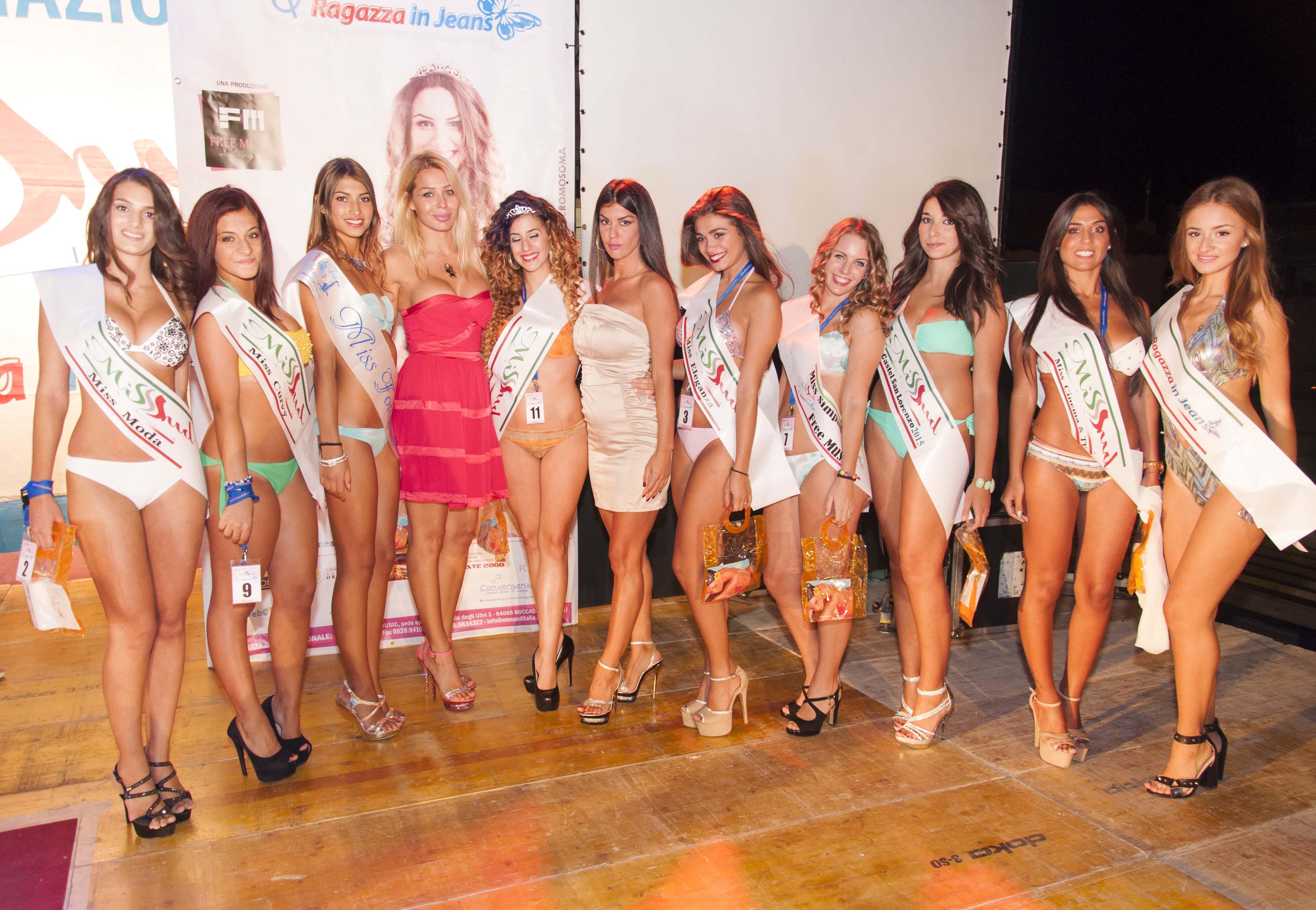 A Roccadaspide la tappa finale di Miss Sud Italia