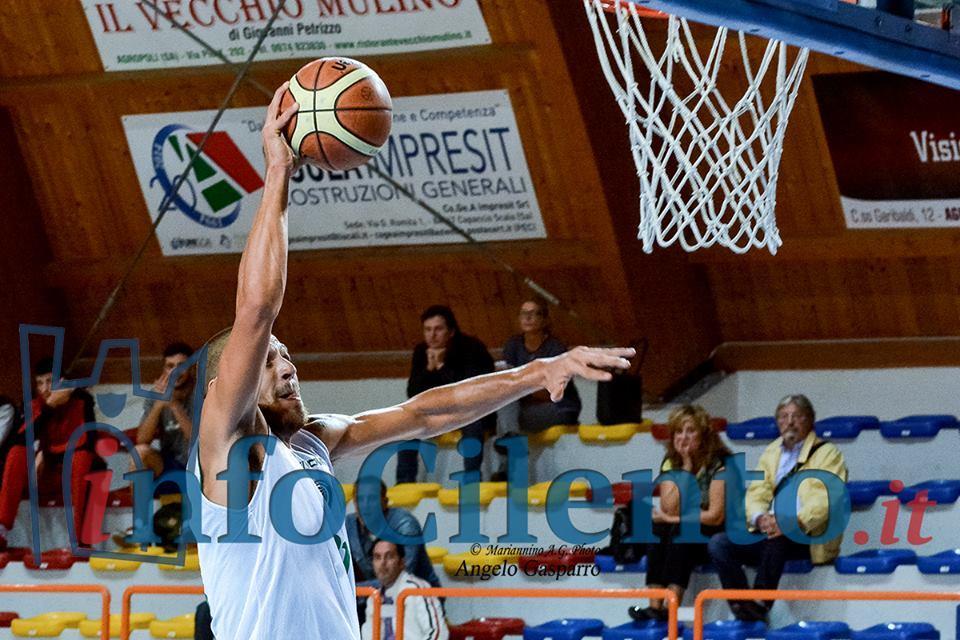La Cilento Basket fa 21 su 21, battuta Battipaglia