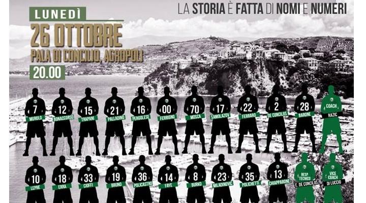 Basket: al via il massimo campionato giovanile italiano, presente anche una cilentana