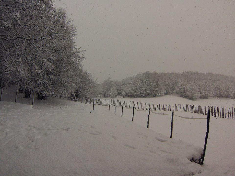 Le spettacolari immagini della prima neve sul Cervati | FOTO – VIDEO
