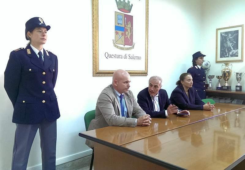Il vicequestore Niglio a capo della squadra mobile di Salerno
