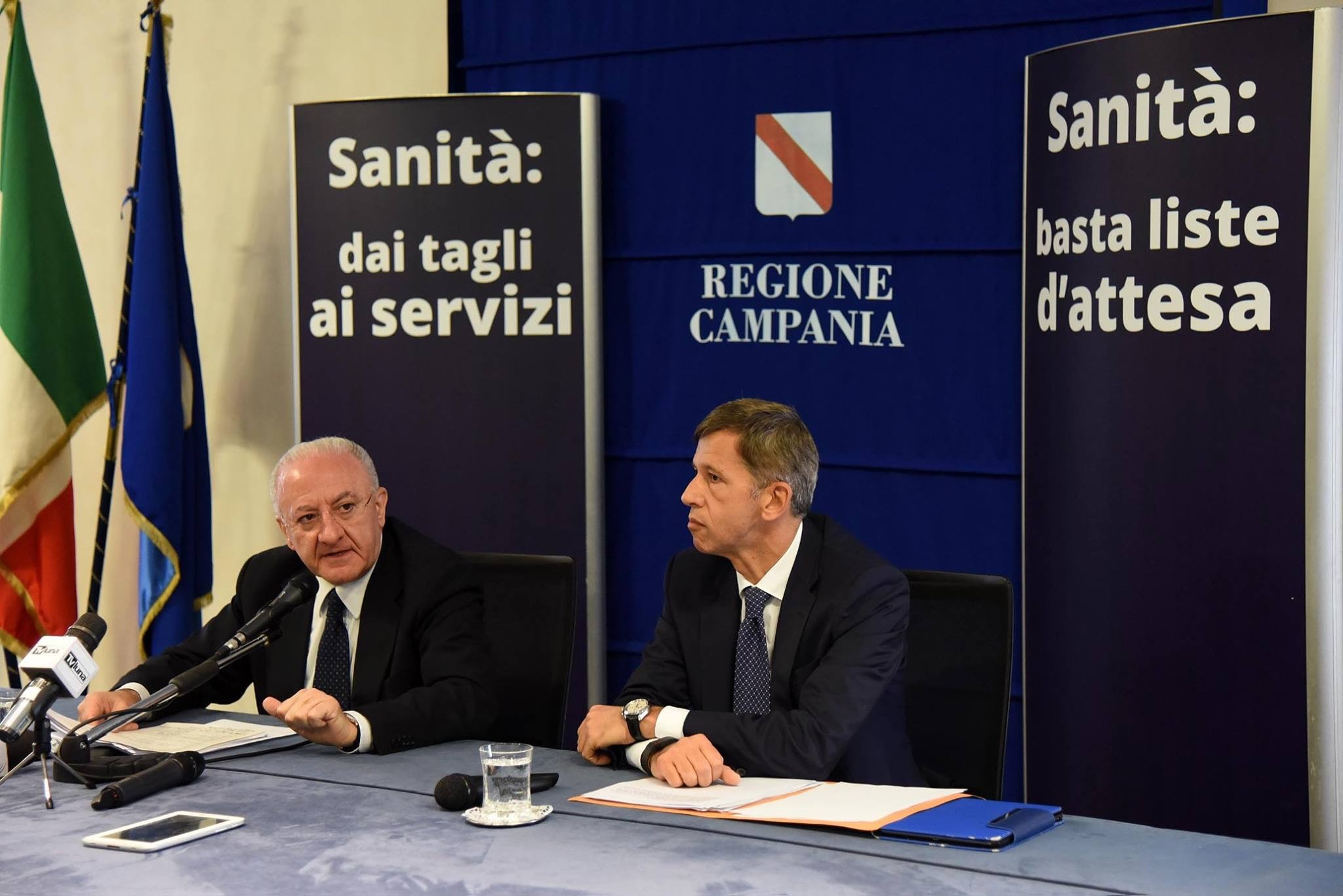 De Luca annuncia: inizia la rivoluzione della sanità in Campania