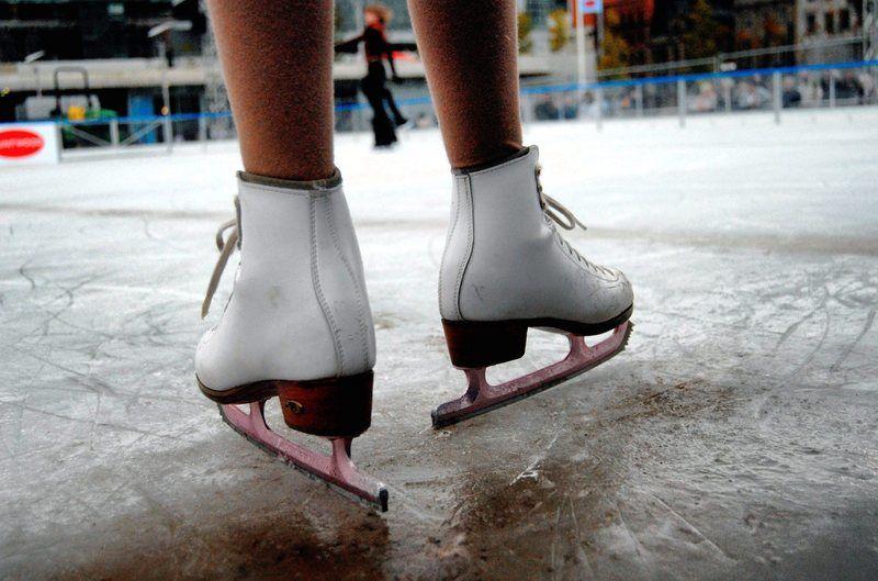 Nel Cilento si può pattinare sul ghiaccio a pochi metri dal mare