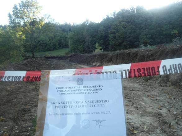 Sequestrata strada in costruzione con fondi europei: mancano le autorizzazioni