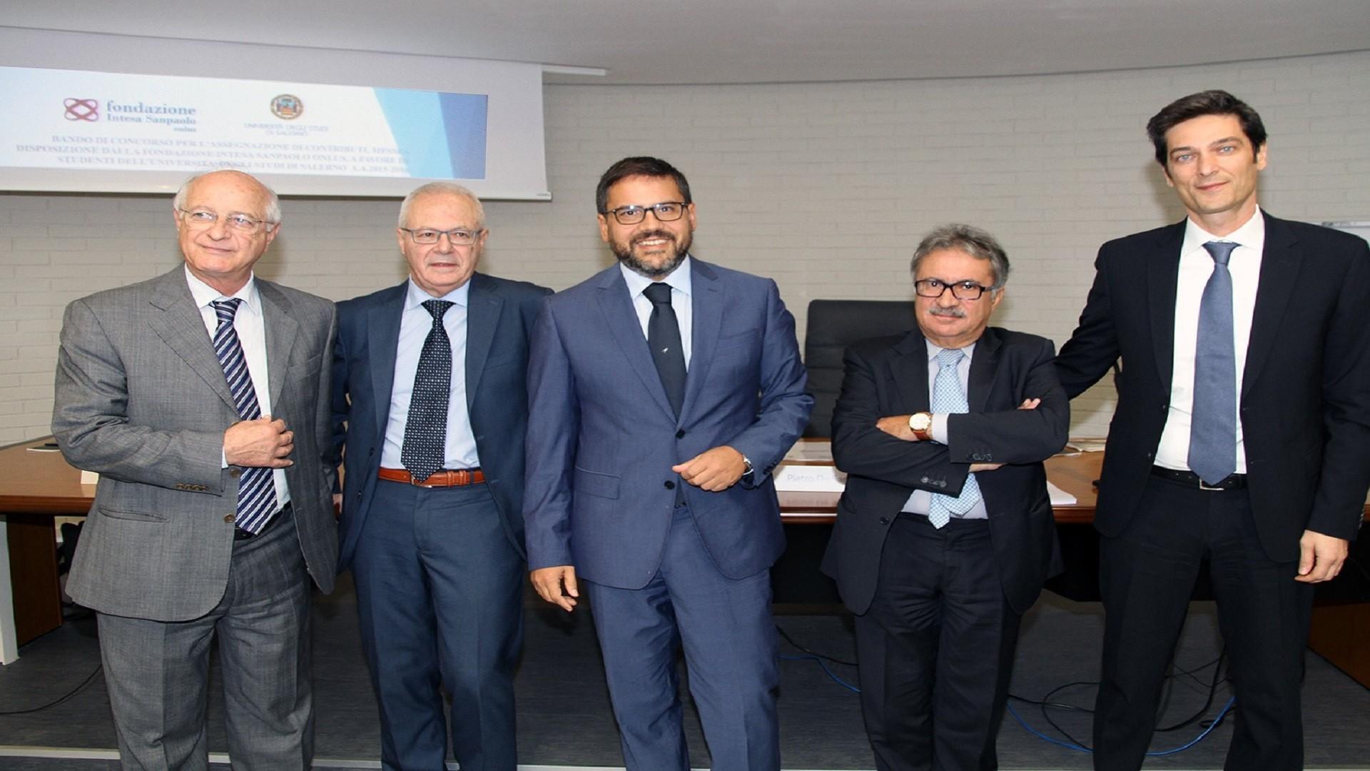 Aniello Salzano, Antonio Piccolo, Aurelio Tommasetti, Pietro De Sarlo, Aniello Auricchio