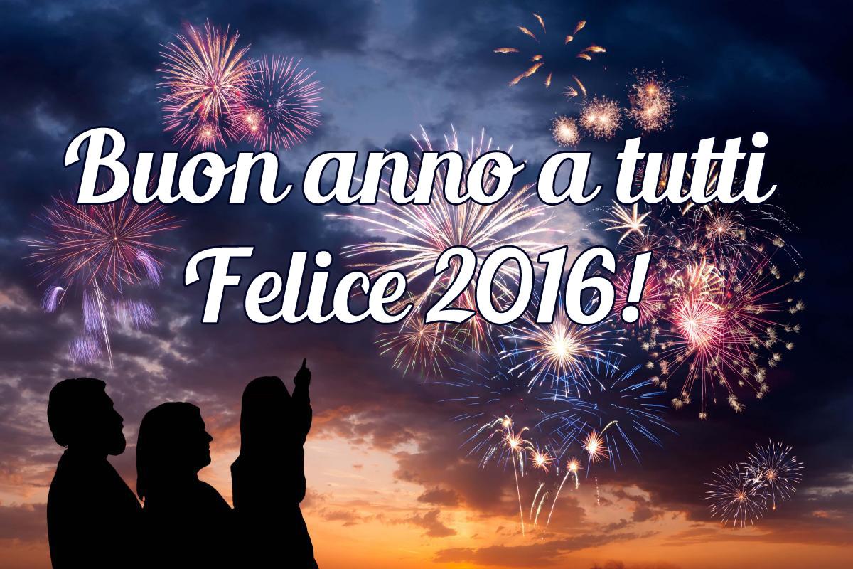 Auguri a tutti di buon anno!