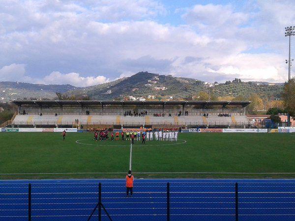 Agropoli - Gelbison, il calcio d'inizio