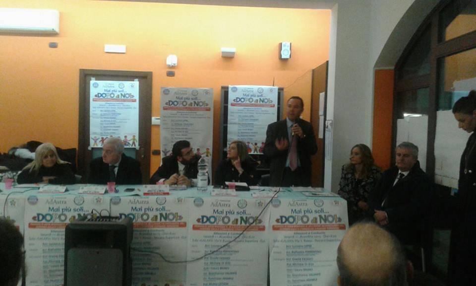 Al convegno della Fondazione Ad Astra Il primo intervento dell'avvocato Michele Di Iesu