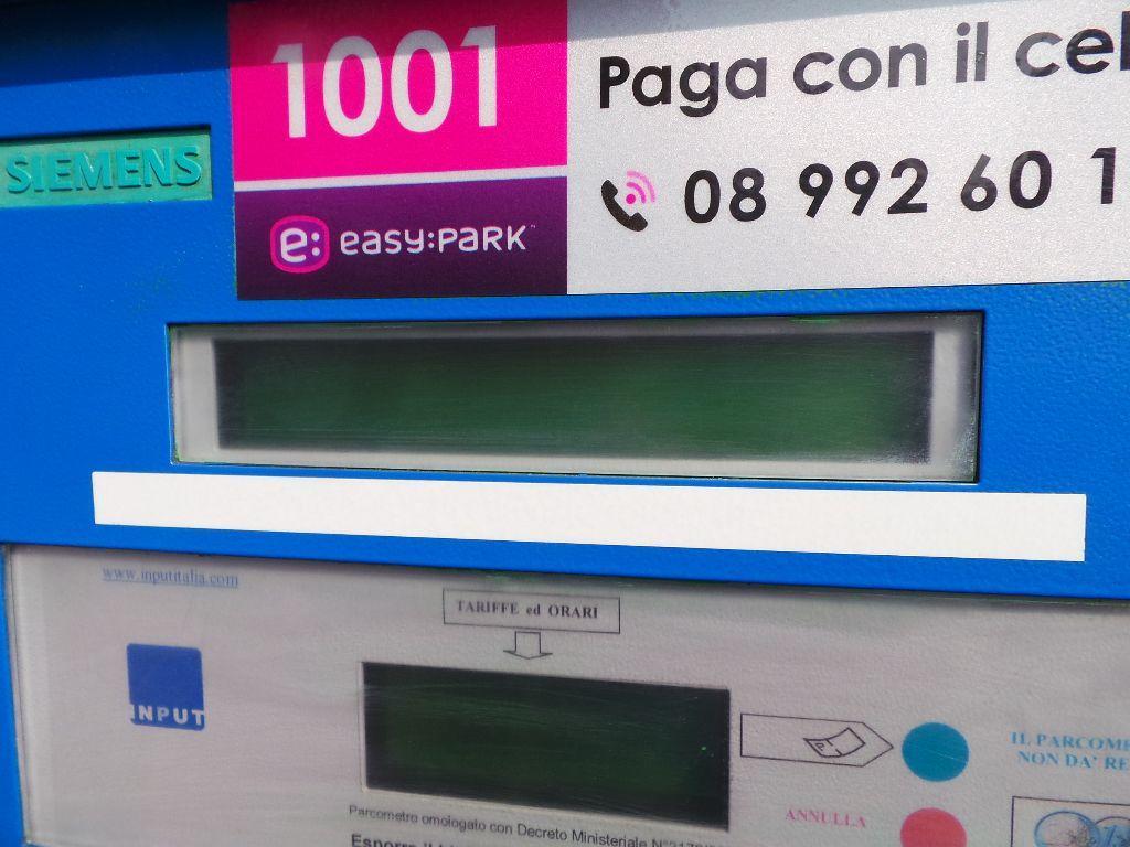 Agropoli come le più grandi città d'Europa: il parcheggio si paga con un'app