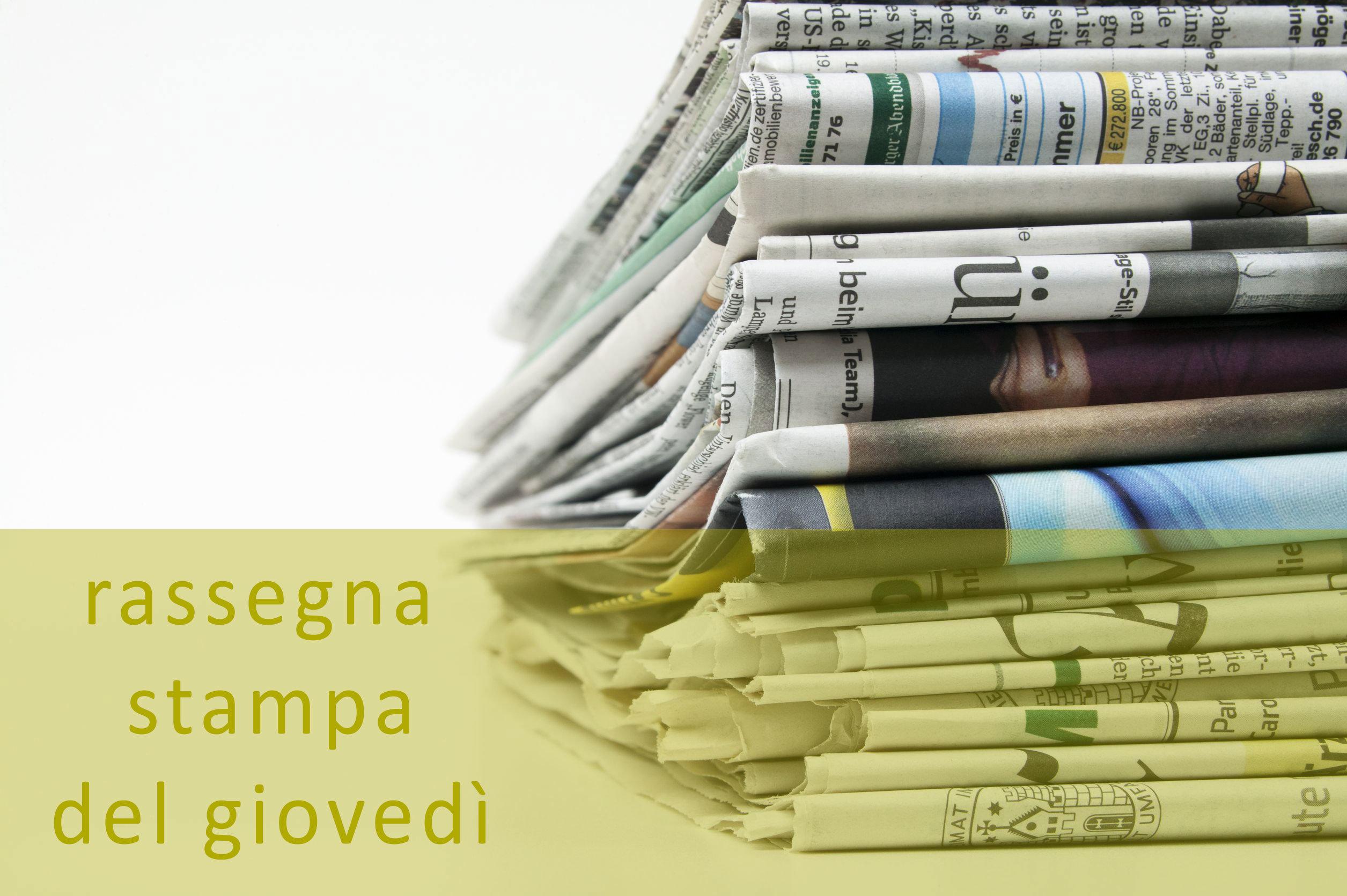 Rassegna stampa del 17 dicembre
