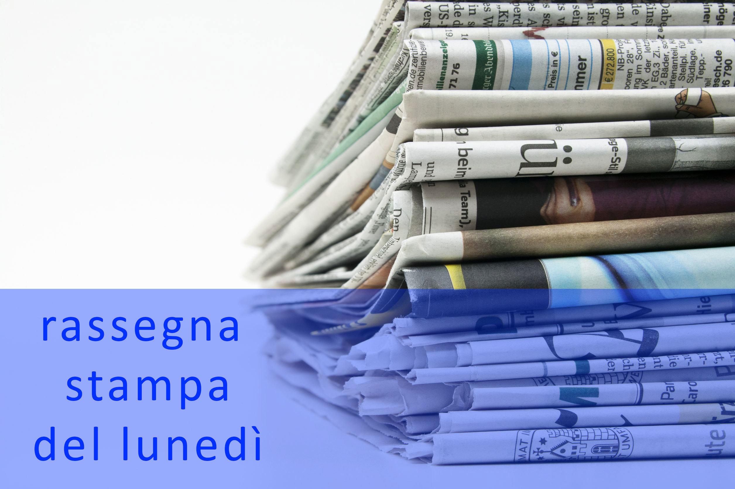Rassegna stampa del 9 maggio