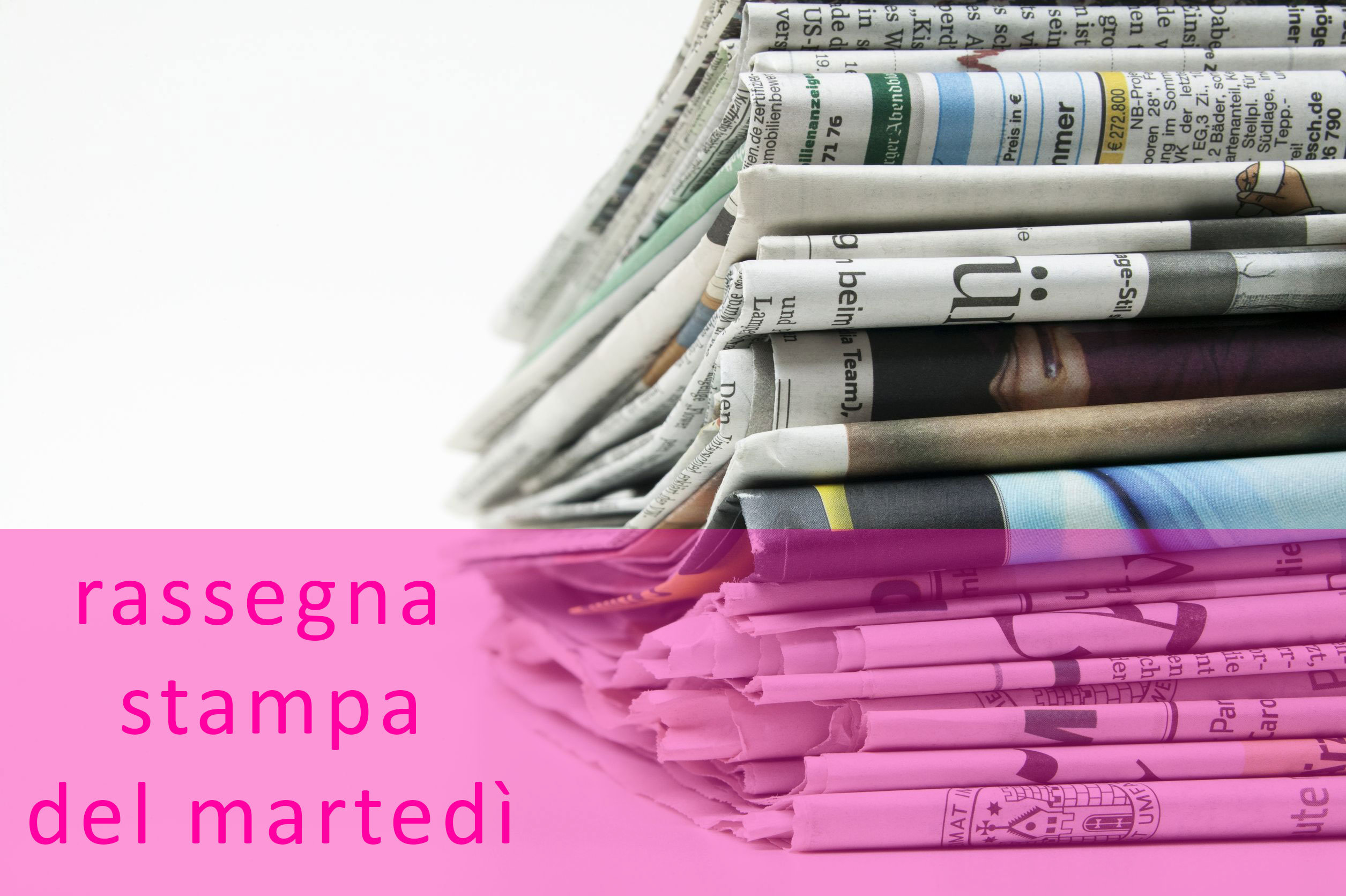 Rassegna stampa del 9 febbraio