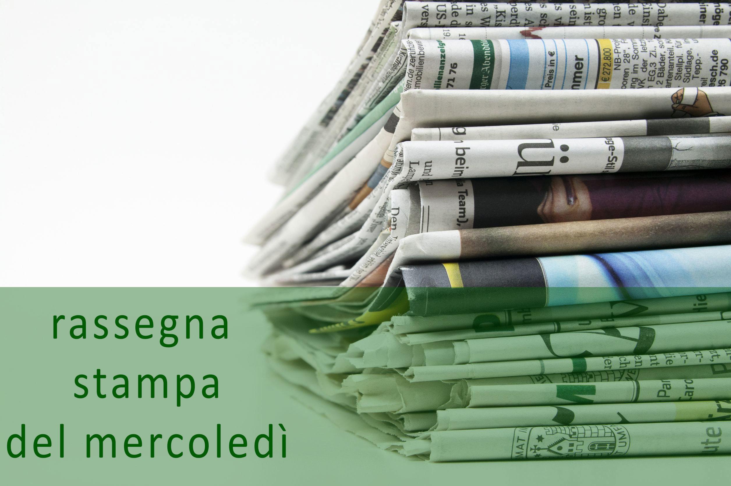 Rassegna stampa del 9 marzo