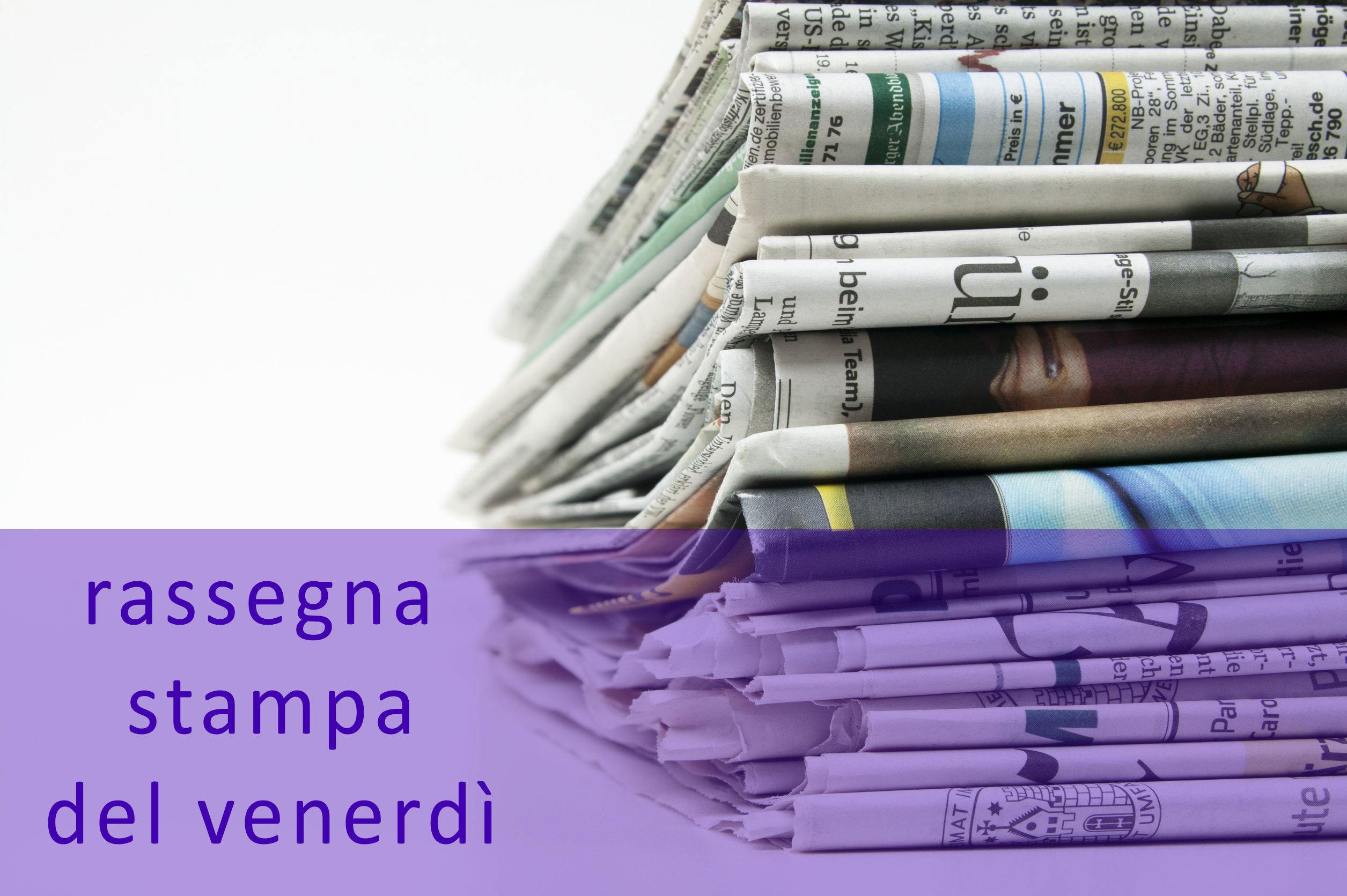 Rassegna stampa del 12 febbraio