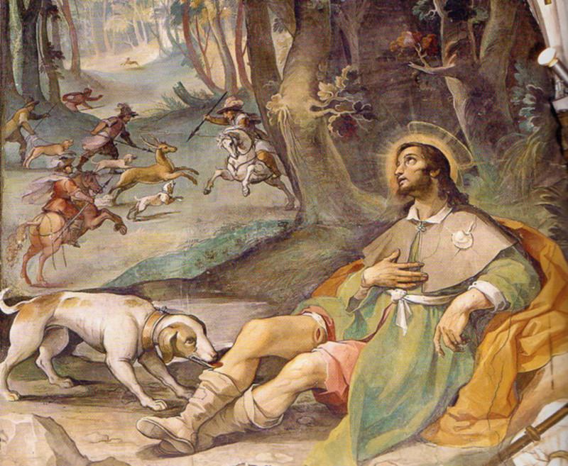 Curiosità: oggi Cardile festeggia San Rocco, protettore dalla peste