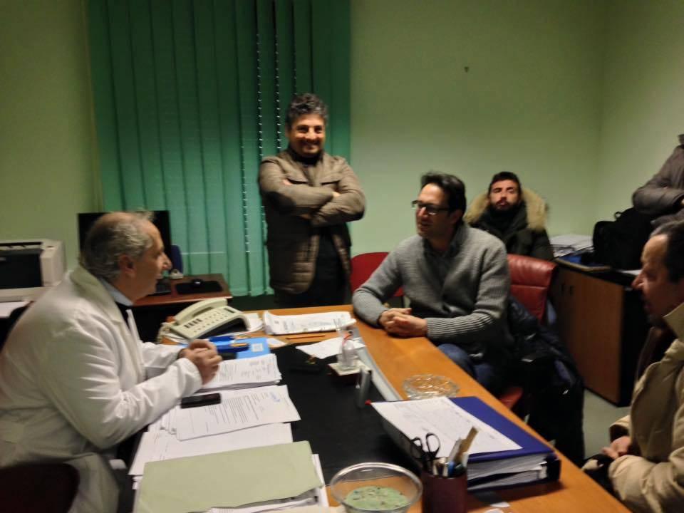Agropoli: oggi il consigliere regionale Cammarano in visita all'ospedale civile