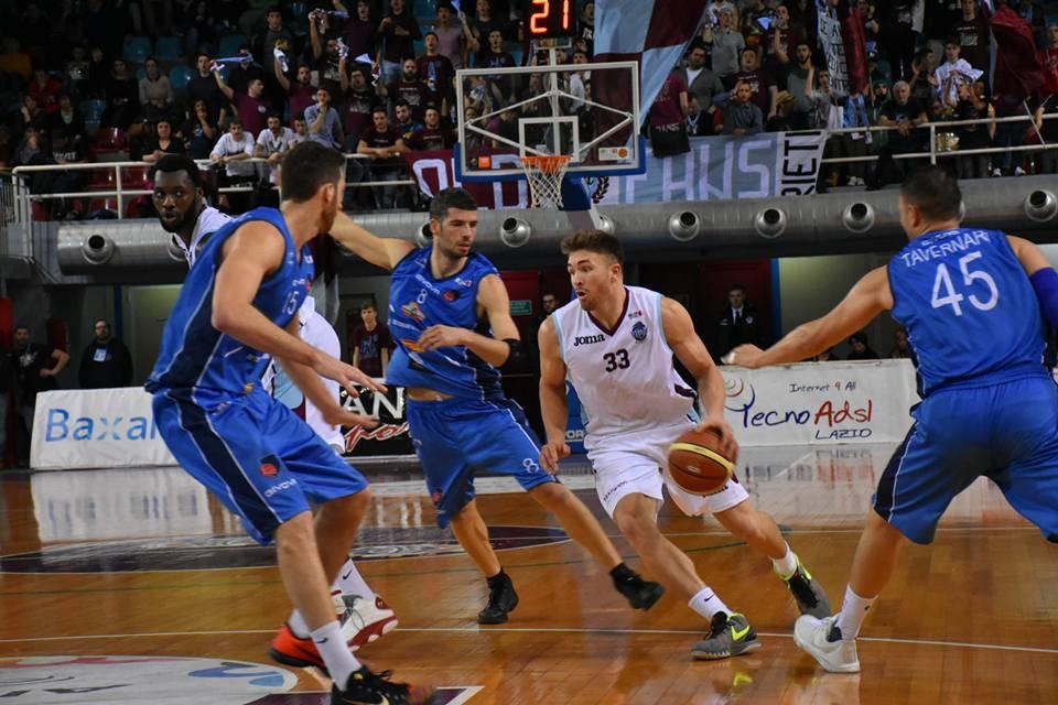 Basket, Agropoli corsara a Rieti