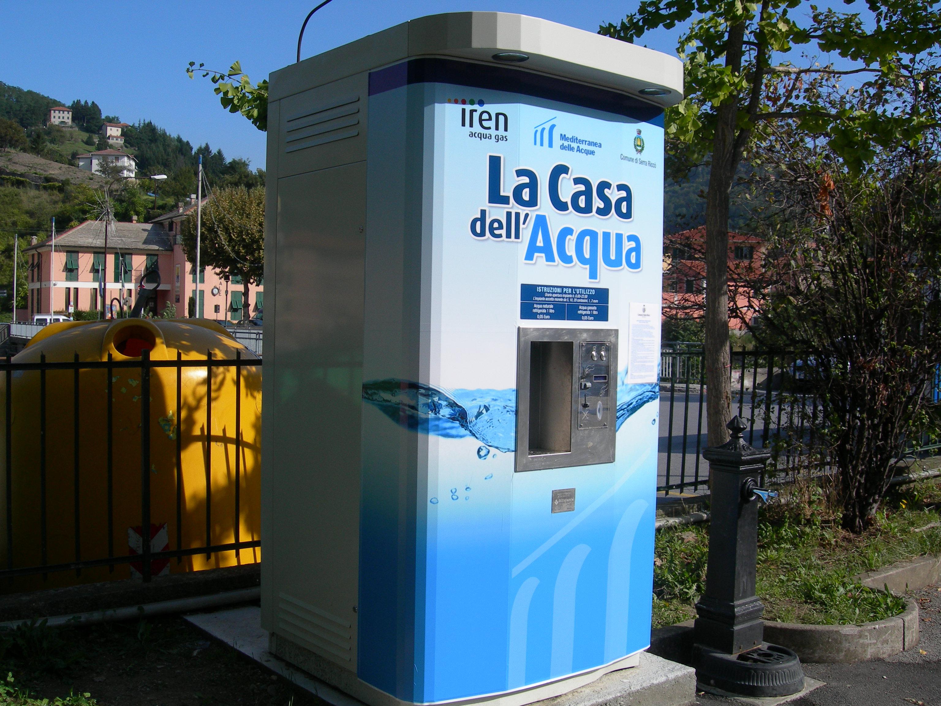 A sapri tre case dell 39 acqua per risparmiare e ridurre i - Acqua depurata in casa ...