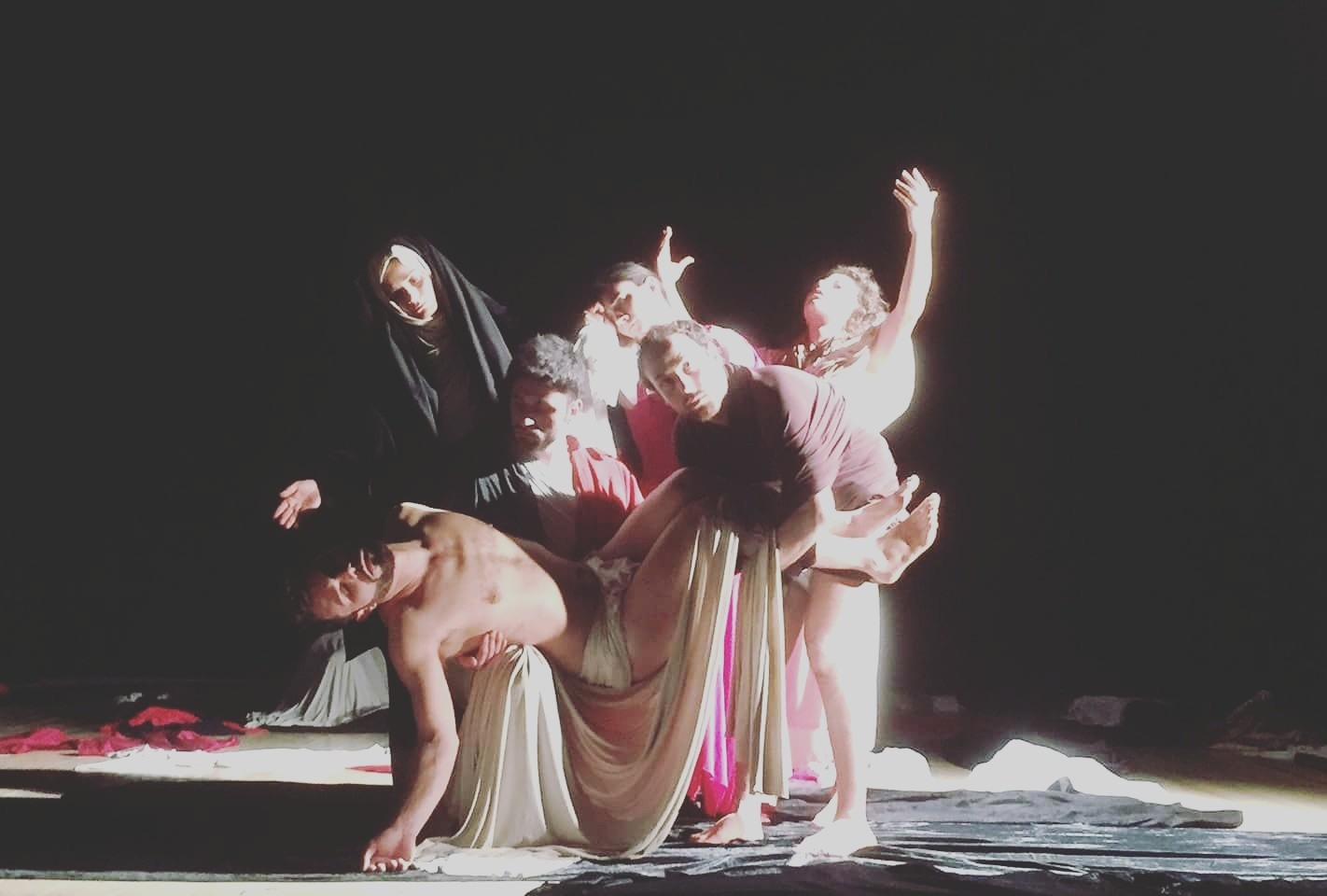 Caravaggio rivive al teatro De Berardinis in 23 tableaux vivants