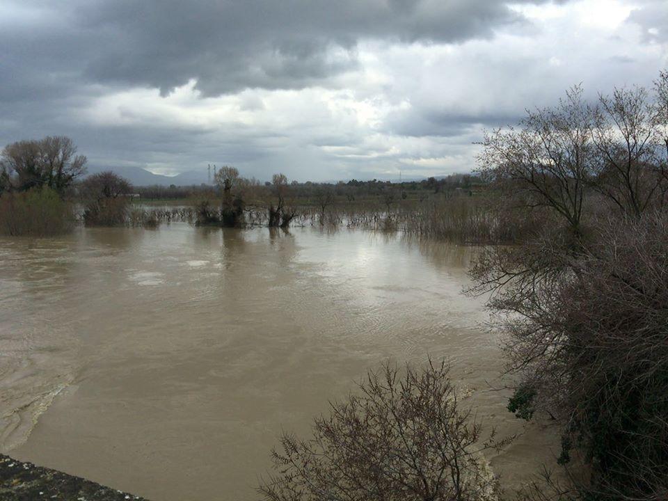 Maltempo: esonda il Calore, regge il fiume Sele