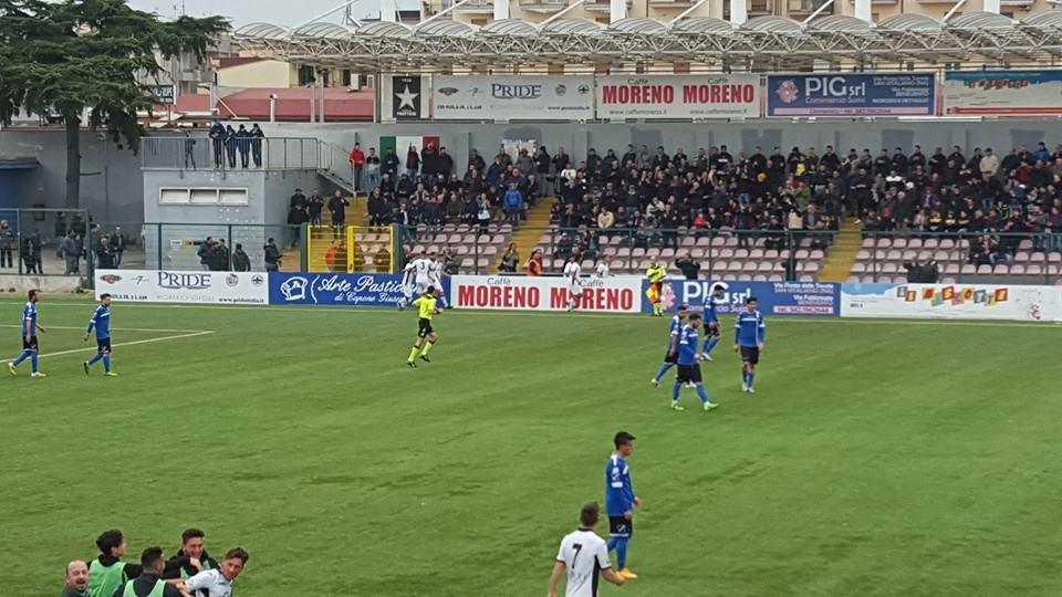 Serie D: l'Agropoli cade a Frattamaggiore, terza sconfitta consecutiva per i delfini