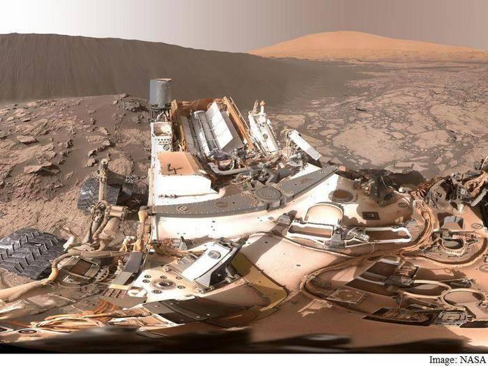 Ora Marte si visita su Facebook. Ecco le immagini