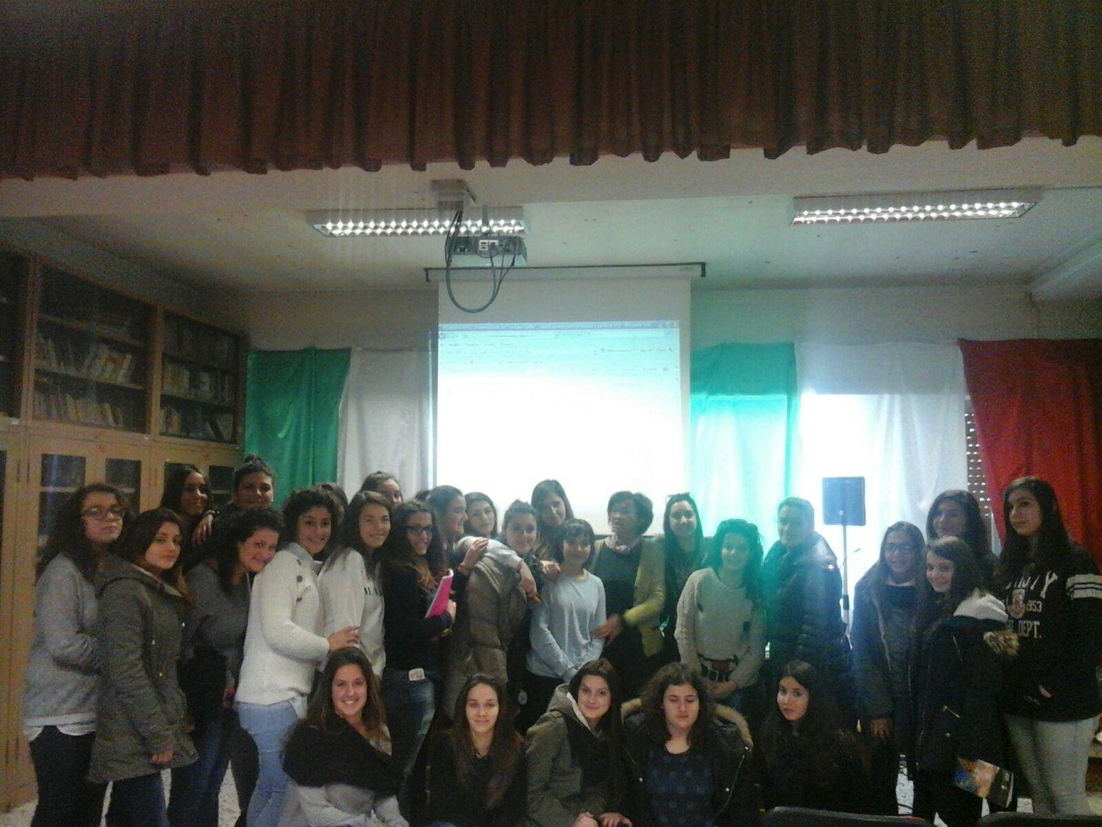 """Al """"Parmenide"""" incontro sull'Educazione linguistica, con la Prof.ssa Giusy Rinaldi"""