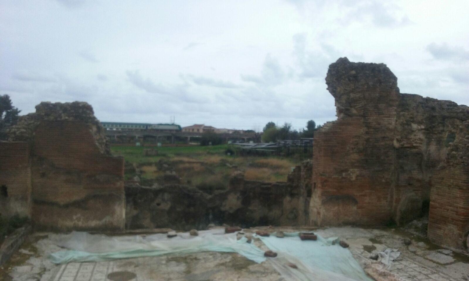 Maltempo, disagi anche nell'area archeologica di Velia
