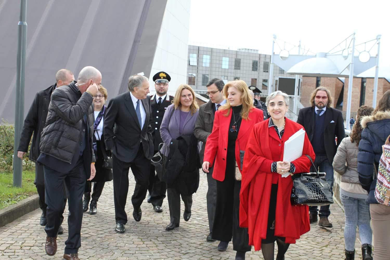 L'Ambasciatore USA John Phillips in visita all'Università di Salerno