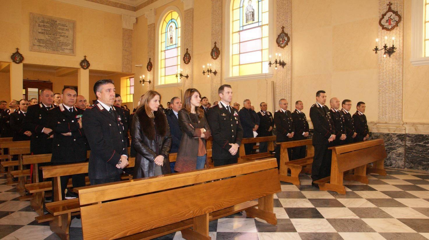 I Carabinieri delle Compagnie di Vallo e Agropoli hanno celebrato il precetto pasquale